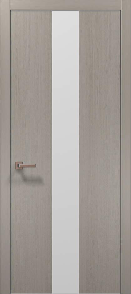 Plato-6 Пекан светло-серый, торец в цвет полотна