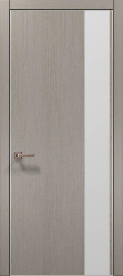 Plato-5 Пекан светло-серый, торец в цвет полотна