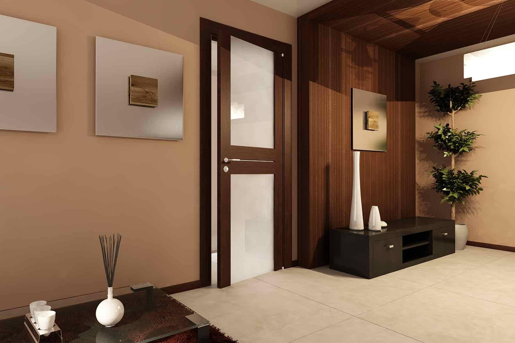 как красиво оформить входную дверь